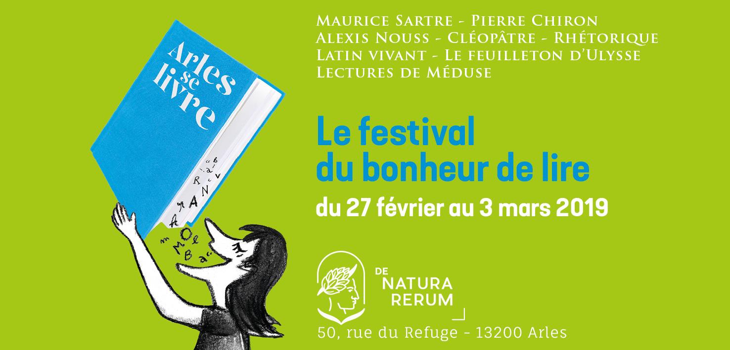 Arles Se Livre 2019 Le Programme De Natura Rerum De