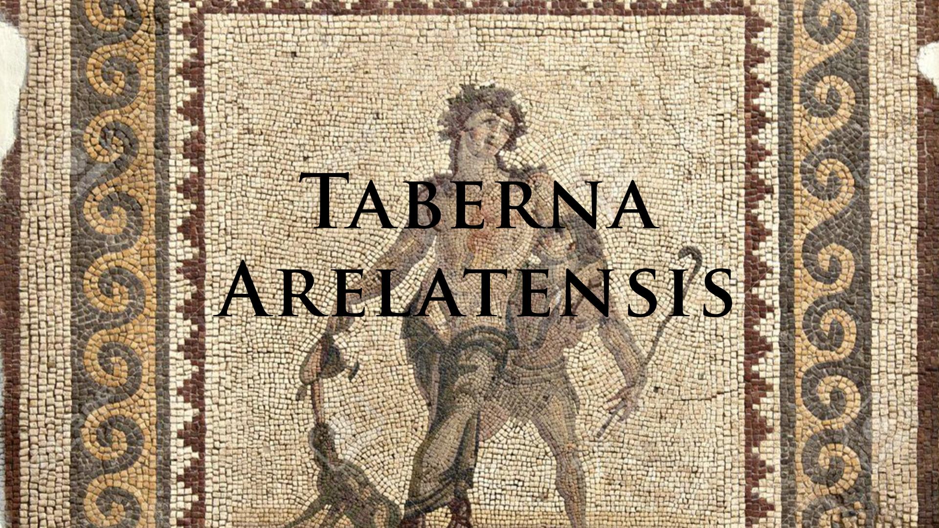 Taberna arelatensis. Bar à cervoise éphémère