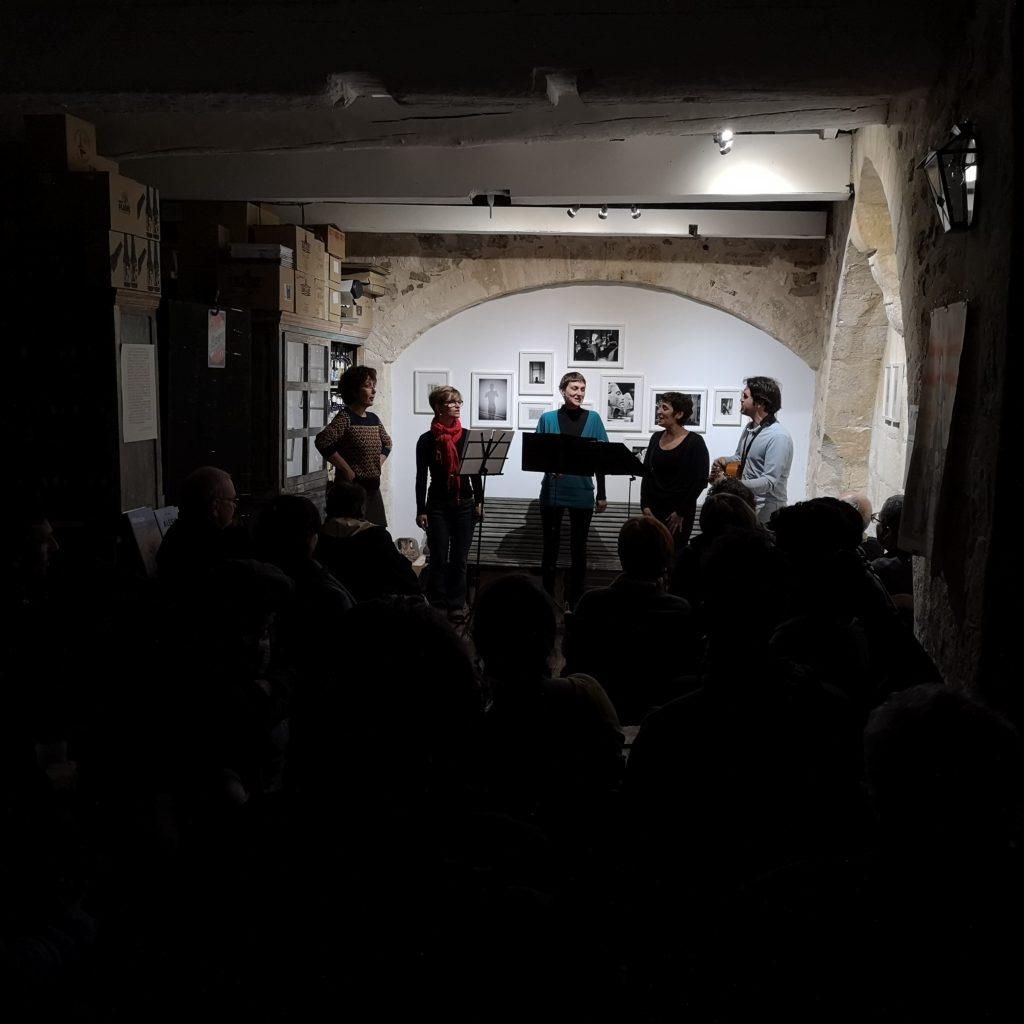 Concert Calendau, chez De natura rerum en décembre 2018.