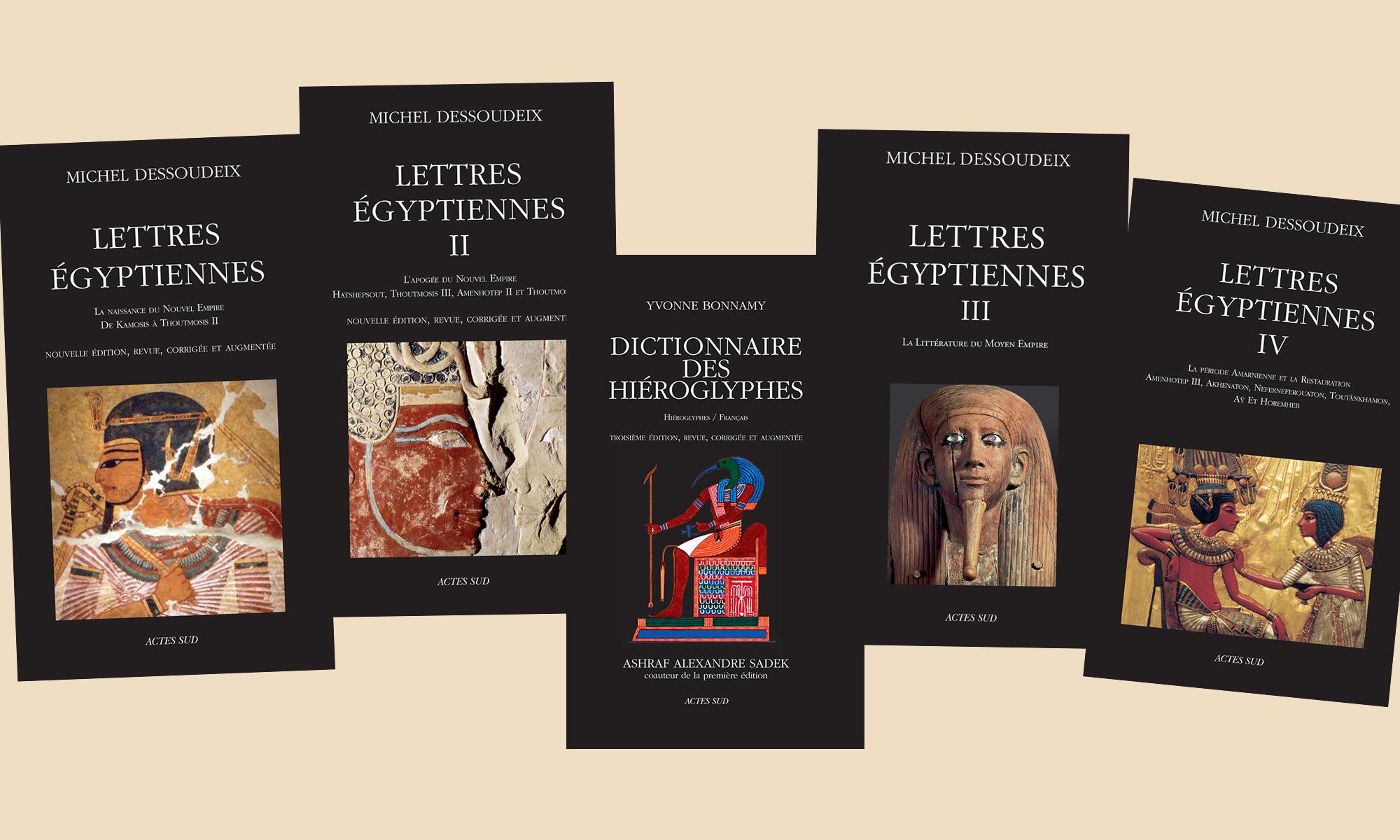 Lettres égyptiennes. Aude Gros de Beler chez De natura rerum à Arles