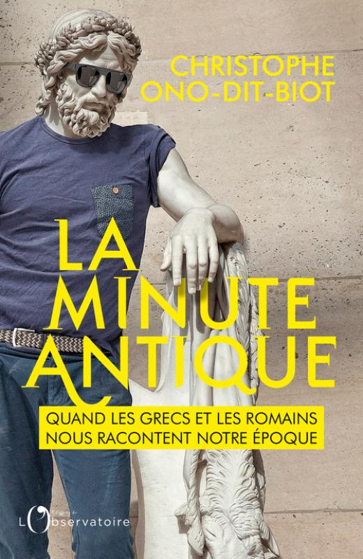 La minute antique. Christophe Ono-dit-Biot chez De natura rerum à Arles le vendredi 6 mars 2020
