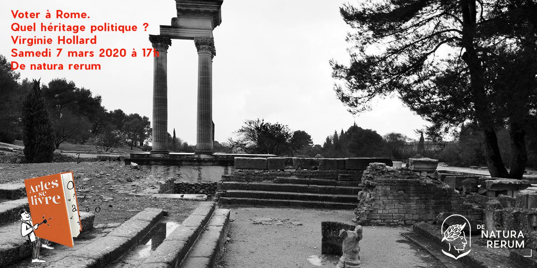 Voter à Rome De natura rerum mars 2020