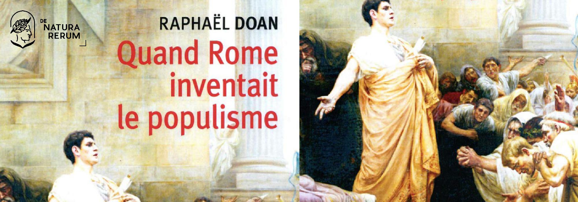 quand rome inventait le populisme de natura rerum