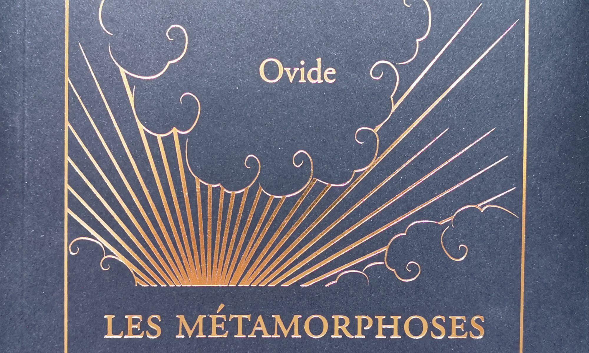 Anne Brissier lit les Métamorphoses d'Ovide