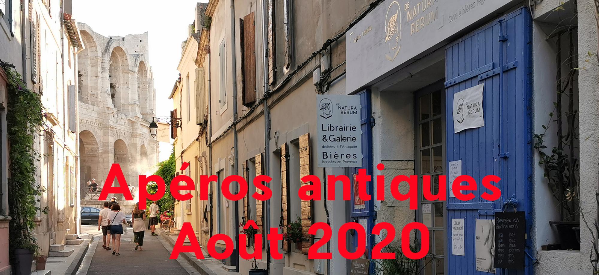 Apéros antiques De natura rerum août 2020