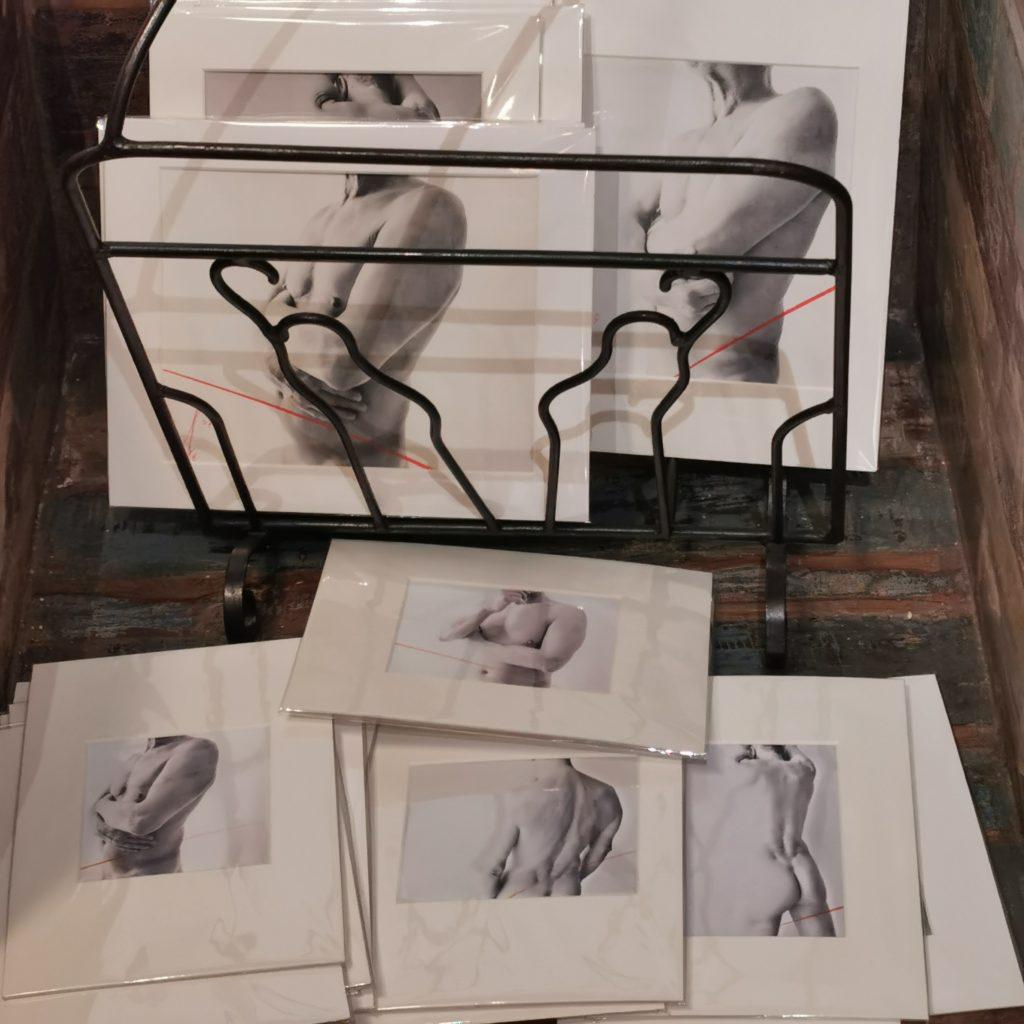 Nu le modèle, photographies de Nathalie Bourceret