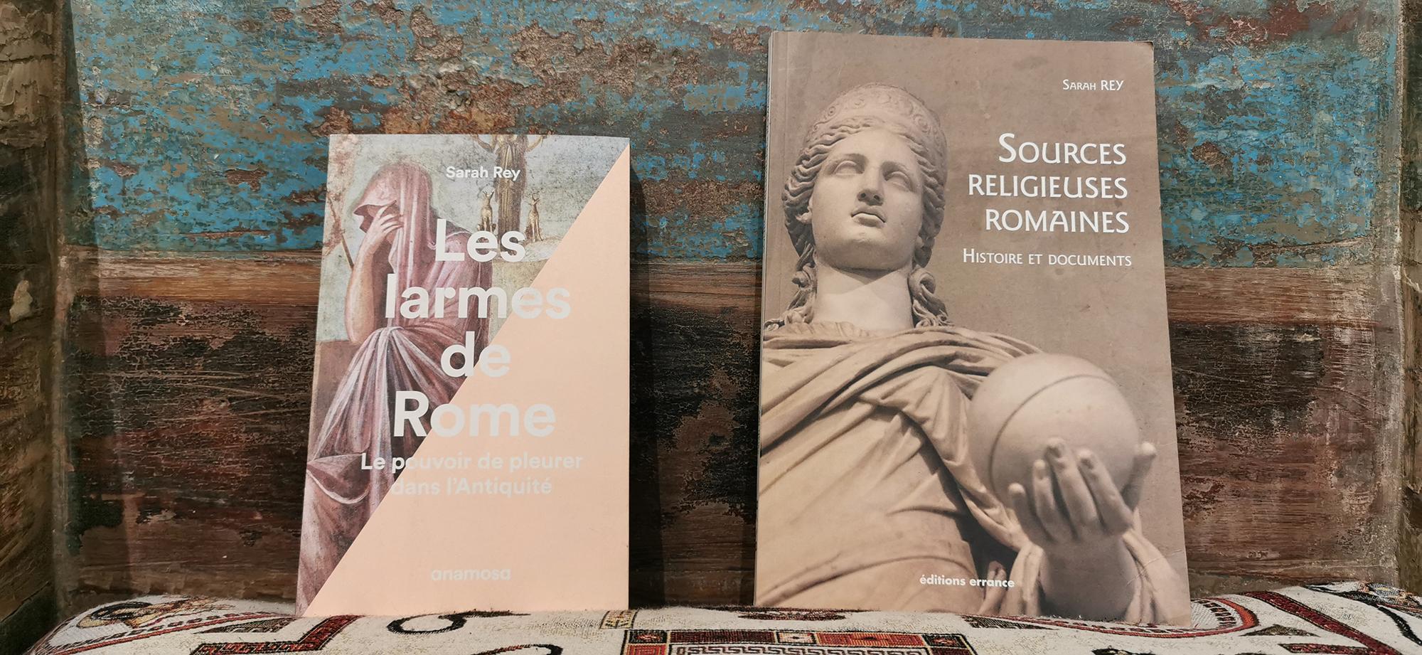 Larmes et religions à Rome, Sarah Rey chez De natura rerum