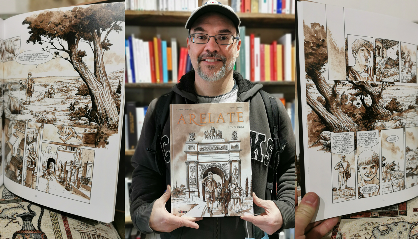 Arelate tome 7 : Laurent Sieurac chez De natura rerum