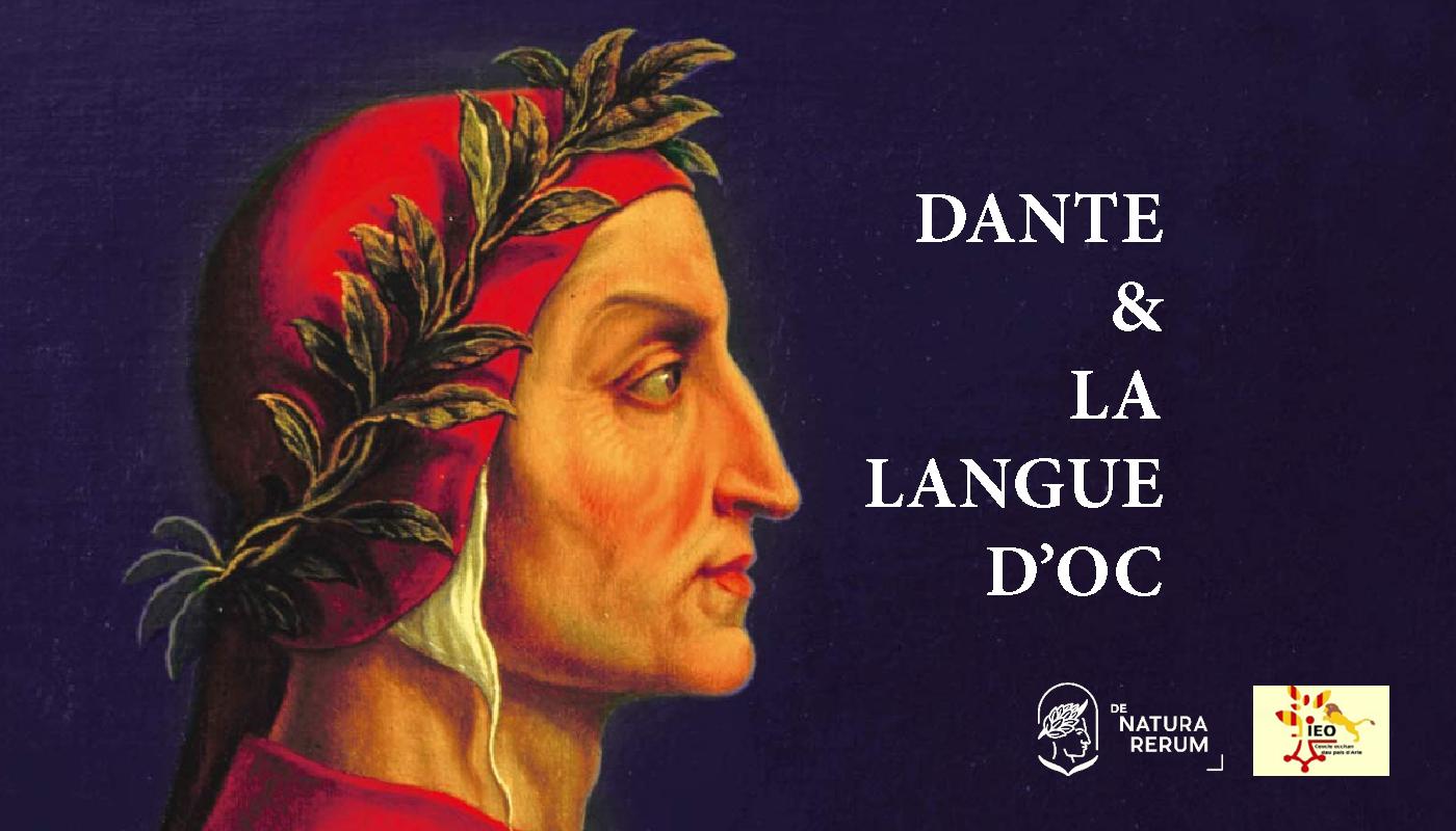 DNR dante et la langue d'oc Arles 2021