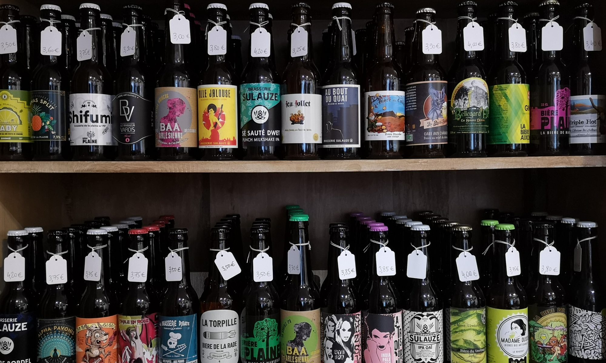 bières disponibles chez De natura rerum décembre 2018 1