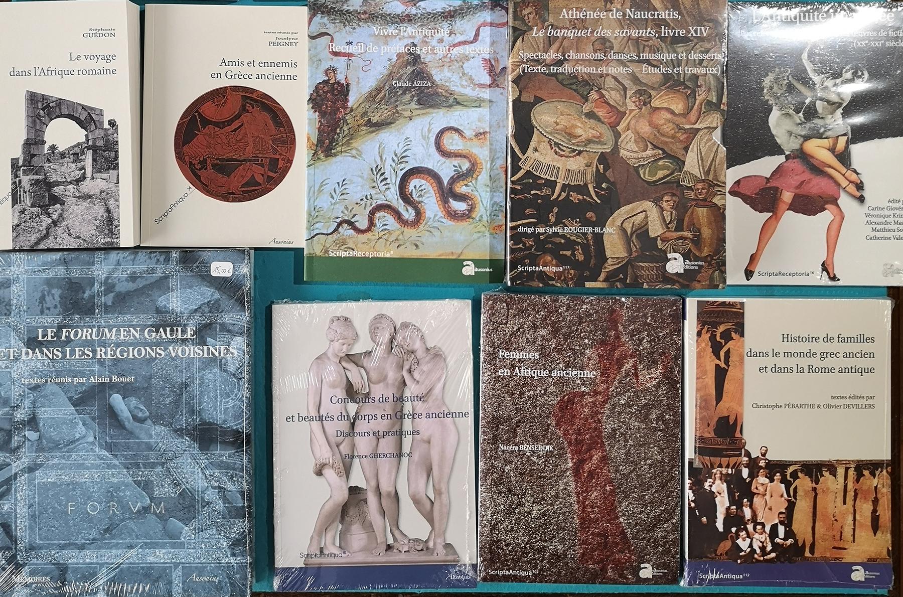 Les éditions Ausonius chez De natura rerum à Arles