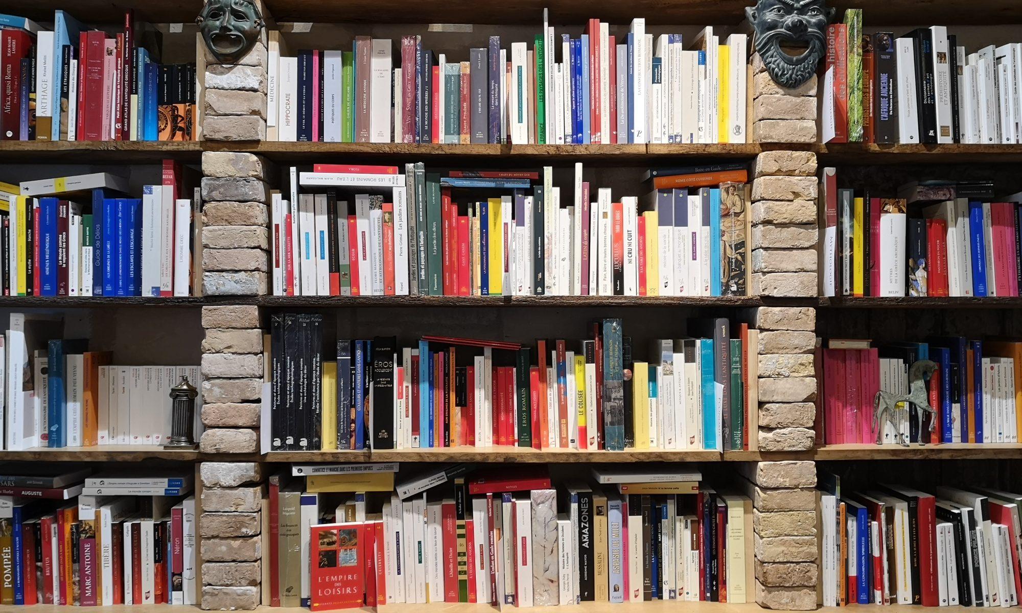 De natura rerum, librairie spécialisée sur l'Antiquité