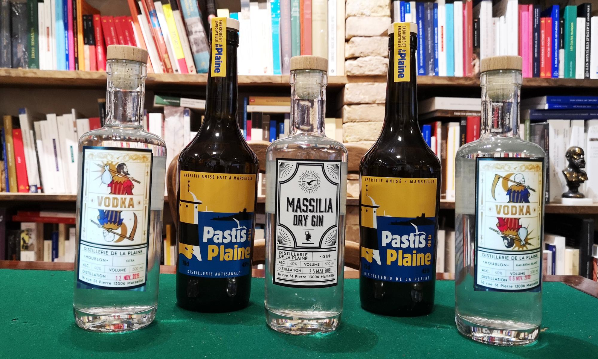Dégustation de gin pastis vodka artisanaux de Marseille