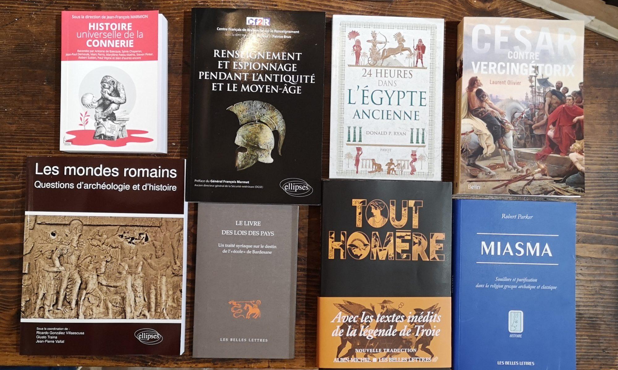 Quelques suggestions de lecture De natura rerum