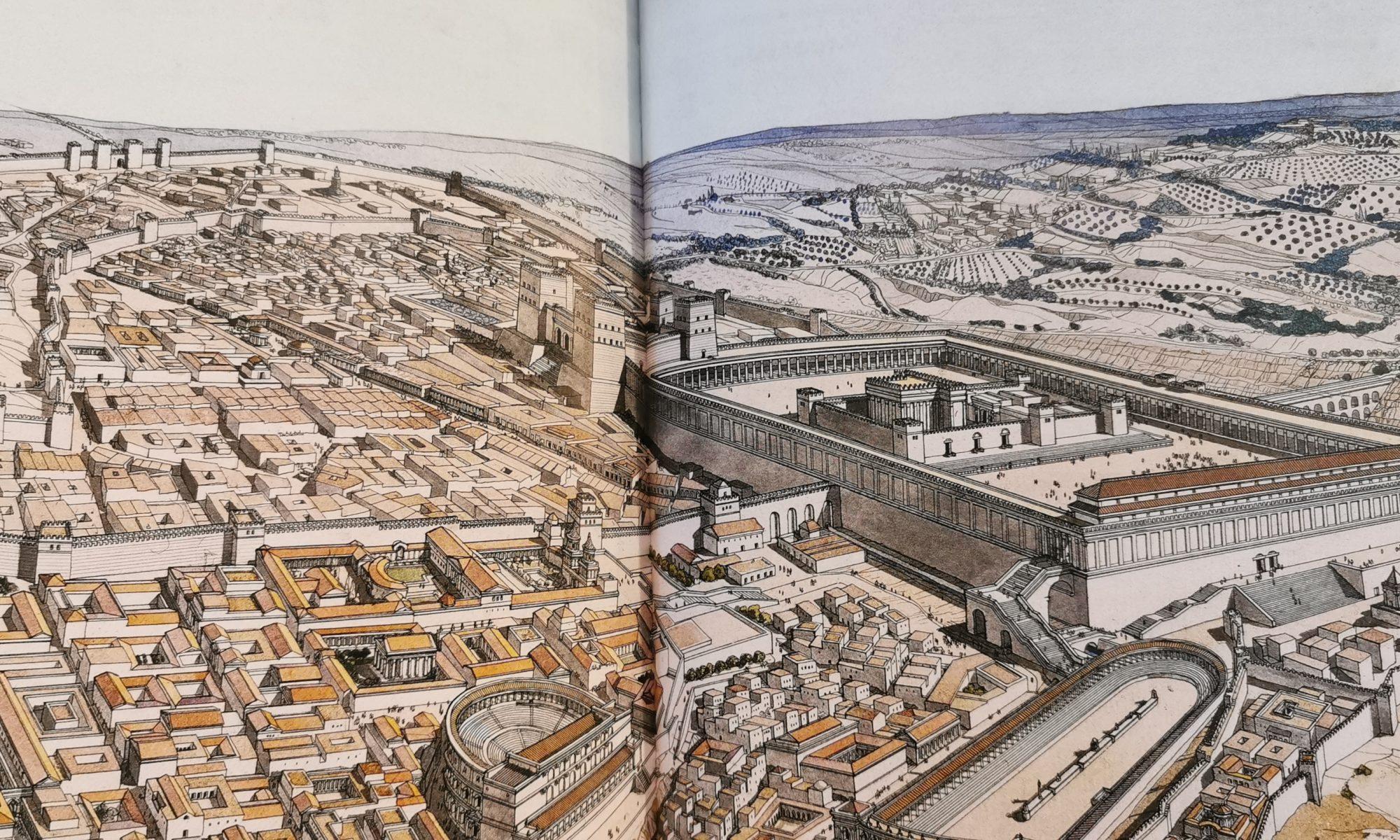 Le temple de Jérusalem, vu par Jean-Claude Golvin
